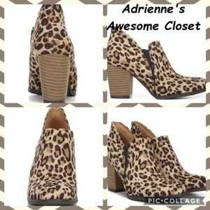 Dr. Scholl's All My Life Cheetah Print $55 NIB